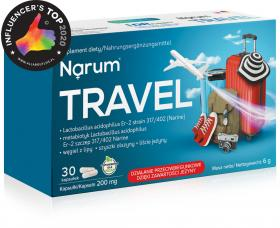 Narum Travel 200 mg, 30 kapsułek